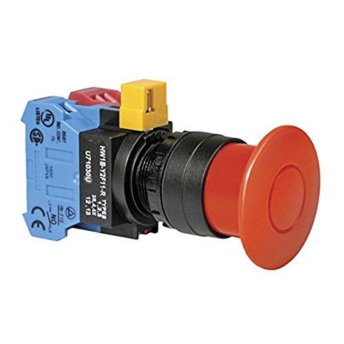 22mm HW 시리즈 중형 비상정지 스위치 IDEC
