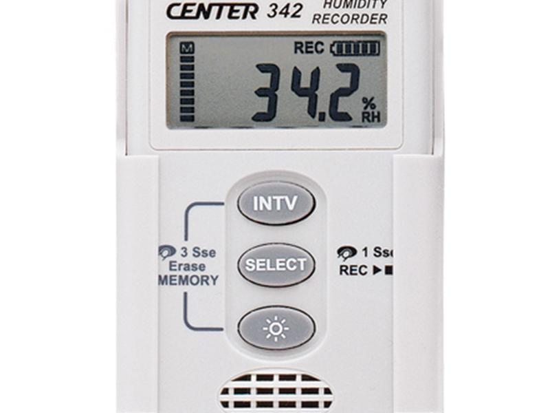 온습도계 CENTER342-30 ~ 70℃(0.1℃),0 ~ 100%