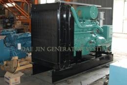 천연가스발전기 330KW 대진발전기