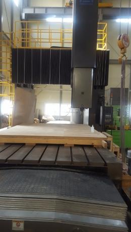 CNC조각기 목형가공 테이블2000x4000