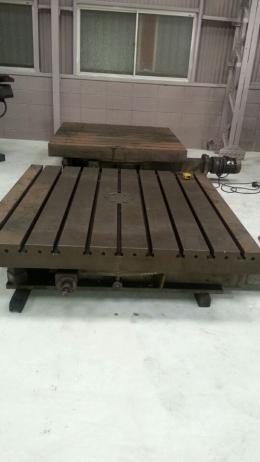 전동방식 수동로터리테이블 1500×1500