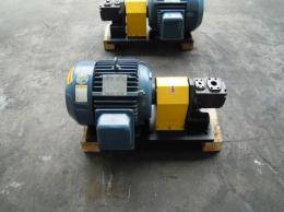 5HP 6P모터와 유압펌프