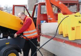 트랙터 주유기/기름탱크/이동식주유기 / 주유통/ 트랙터/이동식기름통/기름통/휘발유통/경유통