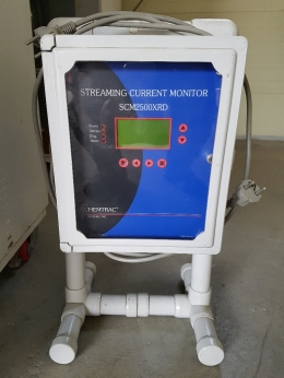 유동전류계, 유동전하측정기,STREAMING CURRENT MONITOR, SCD