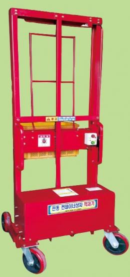 저온창고용 컨테이너 상자적재기, 상자적재기, 컨테이너상자적재기