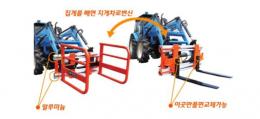 베일러운반용짚게/농기계/작업기