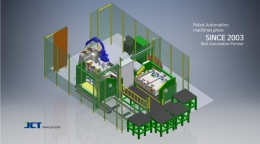 PIN, BRACKET 용접 로봇 자동화 시스템