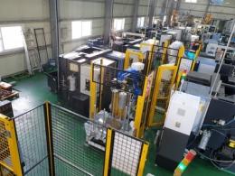 CNC 선반 로봇 가공자동화 시스템