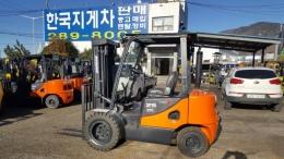 2.5톤 디젤지게차 12년식 두산 D25SE-5, 사이드쉬프트