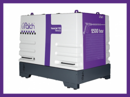 고압세척기 전기식 초고압세척기 초고압워터젯 2500바 26LPM