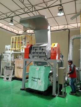 플라스틱고속분쇄기(IHC-50)시간당900kg생산