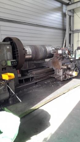 스위프트 범용선반 스윙1500-가공길이5500, 적재중량12톤