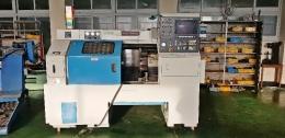 현대마작 10인치 CNC선반 QT-18N MAZATROL-T32B