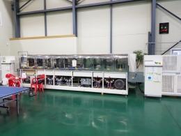 PCB세척기 8조식(세척,건조) , 2010년식, 일본 소니에서 수입