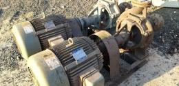 모터펌프 세트.원심펌프.물펌프.효성