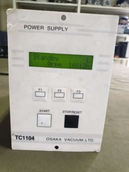 POWER SUPPLY,TC1104,Turbo Pump Controller,터보 펌프 컨트롤러