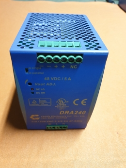 POWER SUPPLY,  DC POWER SUPPLY,DRA240-48A -  AC/DC DIN Rail Power Supply