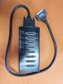 Multi-8 RS232 DRIVER PANEL,SYSTEMBASE MULTI 8포트 USB 시리얼통신 어댑터, RS232 컨버터 Male
