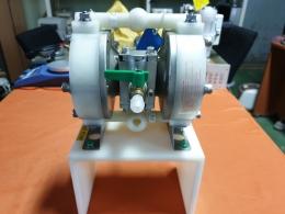 다이어프람 펌프, DIAPHRAGM PUMP,공압식 이중 다이어프램,AIR POWERED DOUBLE DIAPHRAGM PUMP