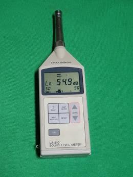 소음측정기, SOUND LEVEL METER,소음레벨(LA) 음압레벨(LP)측정