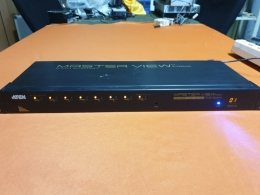Masterview Max Maxiport KVM Switches,8VHXM PS/2 KVM 스위치 랙 타입