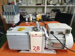 진공펌프,Dual-Stage Vacuum Pump,이중 단계 진공 펌프