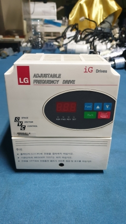 INVERTER,인버터,ADJUSTABLE FREQUENCY DRIVE,  iG Drives, Space Vector Control