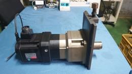 AC SERVO MOTOR(전기서보모터)+기어박스 GEAR BOX (서보 감속기)