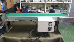 콘베이어, 밸트 컨베이어, 소형 밸트 콘베이어,속도조절기 부착