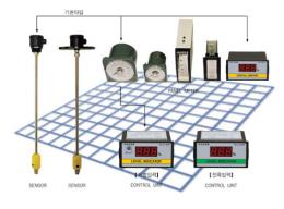 수위조절기,투라인레벨,디지털식 수위조절기 2L-LI-D/P
