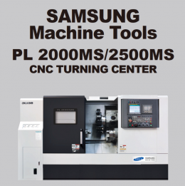 PL 2000MS/2500MS CNC TURNING CENTER