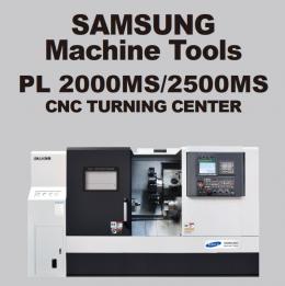 PL 2000MS/2500MS CNC TURNING CENTER