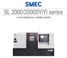 SL 2000/2500SY(Y) series Y-AXIS HORIZONTAL TURNING CENTER