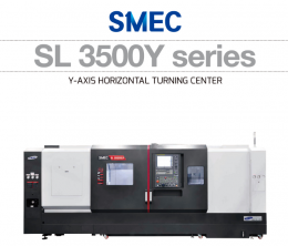 SL 3500Y series Y-AXIS HORIZONTAL TURNING CENTER