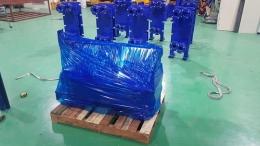 수영장 온도 보존용으로 제작하여 출고 준비중인 판형열교환기 입니다
