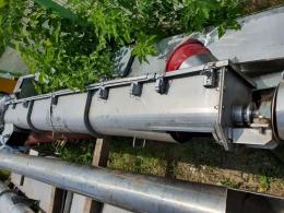 SUS스크류컨베어U형250Ø-3M