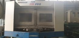 두산 HM800 수평머시닝센터