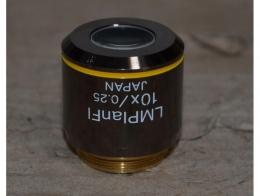 현미경 대물렌즈 Olympus LMPlanFI 10X Objective