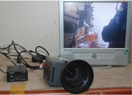 TOSHIBA 3CCD Color Camera IK-T40 with Canon lens