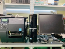 바코드 프린터 SET (핸드스캐너 포함)