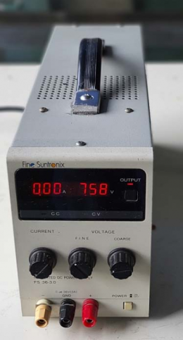 DIGITAL REULATED DC POWER SUPPLY