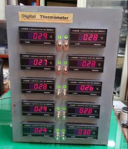 10채널 디지탈 온도계