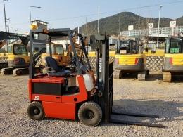 직수입-닛산(NISSAN) 1톤 전동지게차