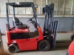 직수입- NISSAN 1.5톤  전동지게차