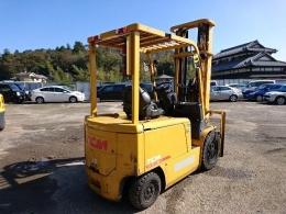 직수입-TCM 3톤 3단마스타(6m)  전동지게차
