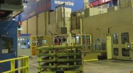 고마츠 3250톤 트랜스퍼 프레스