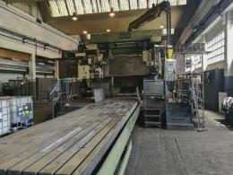 CNC 베드연삭기 1600 x 8000 WMW HECKERT