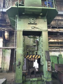630톤 트리밍프레스 VORONEZH KB2538