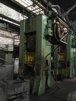 800톤 너클프레스 BARNAUL K846B
