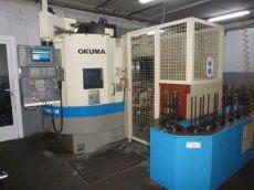 CNC 수직선반 OKUMA LVT-300